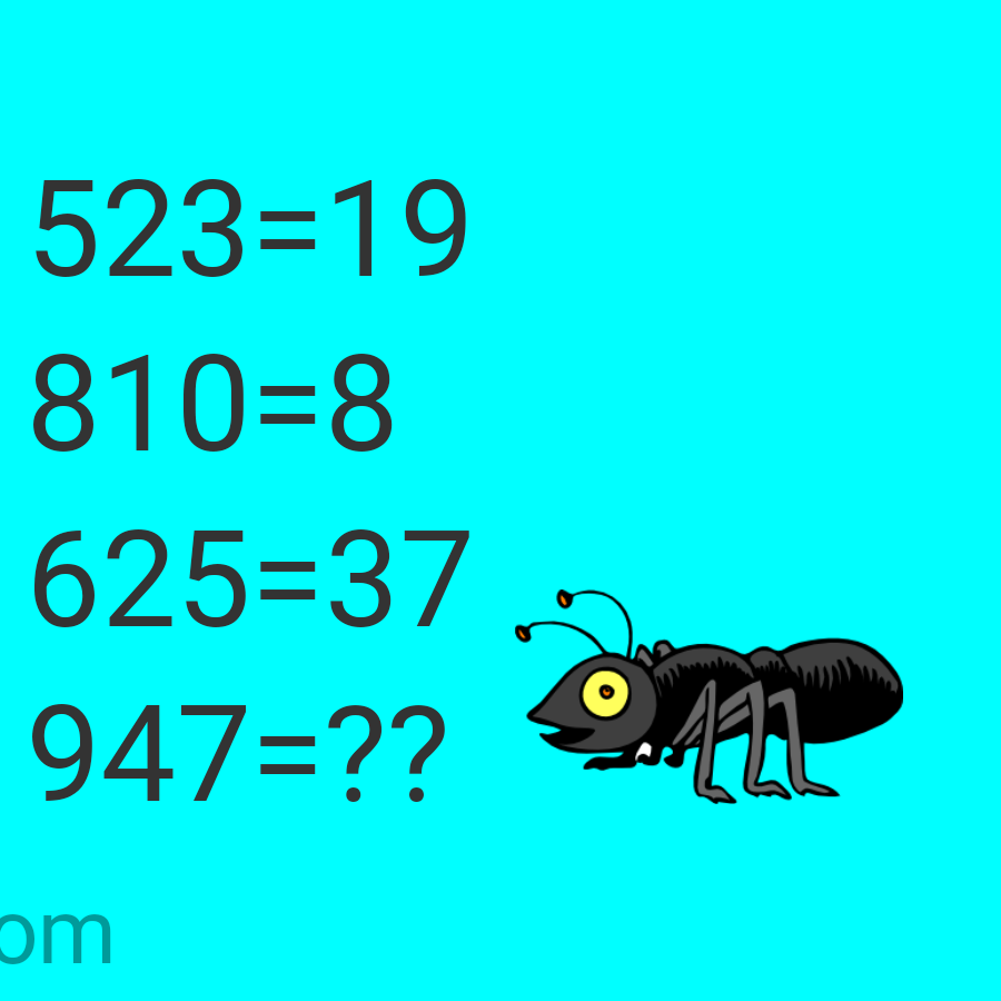 Brain teaser - Number And Math Puzzle - can you slove this? -
