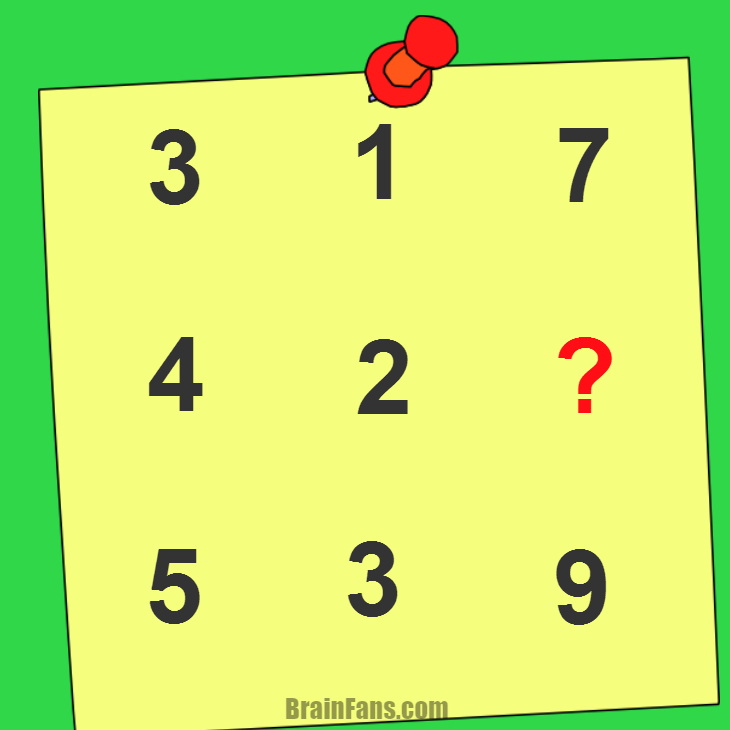 Kids riddle | Kids Riddles Logic Puzzle - BrainFans
