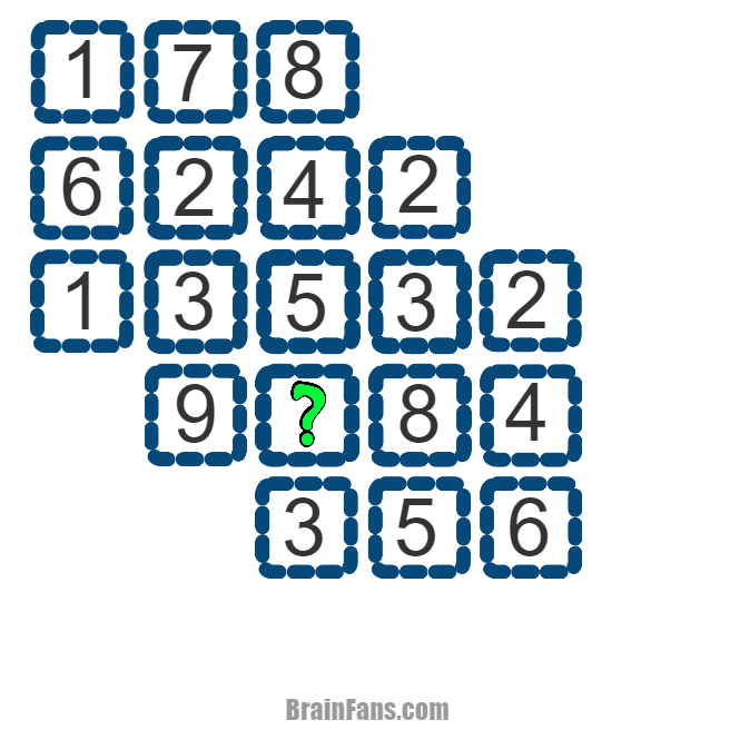 Brain teaser - Kids Riddles Logic Puzzle - The 27 numbers -