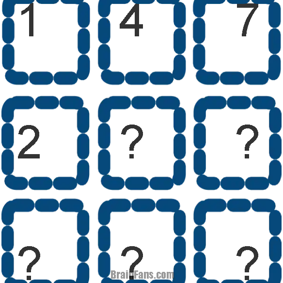 Brain teaser - Logic Riddle - Help what are the numbers - How does this work?