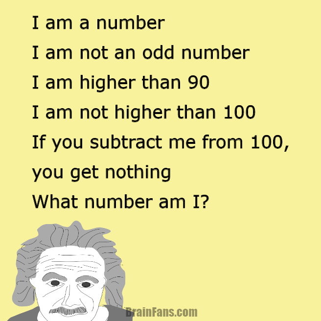 Riddle For Geniuses Logic Riddle Brainfans