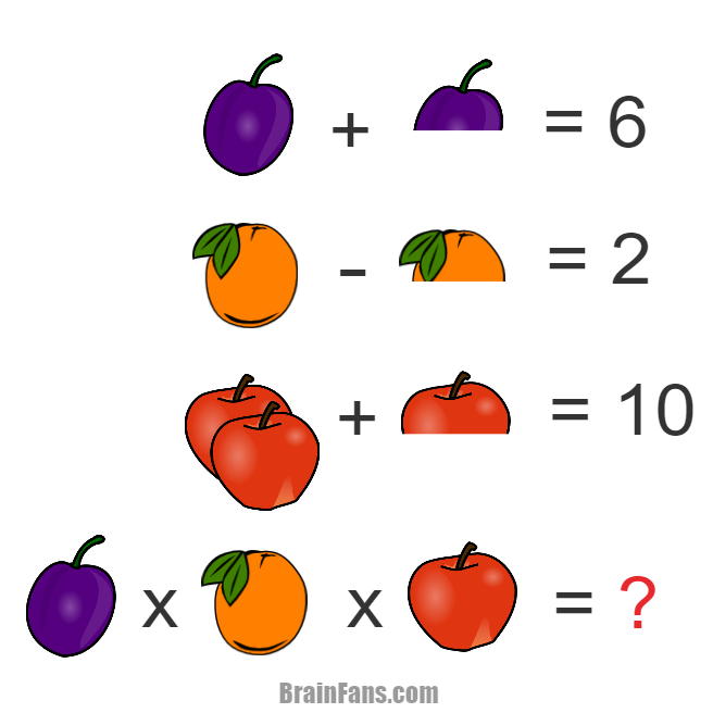 fish logic math question number and math puzzle brainfans