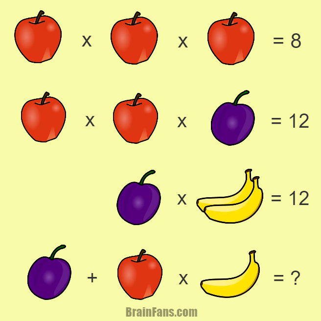 Brain teaser - Number And Math Puzzle - Math question - Can you solve this mathematical equation with three
