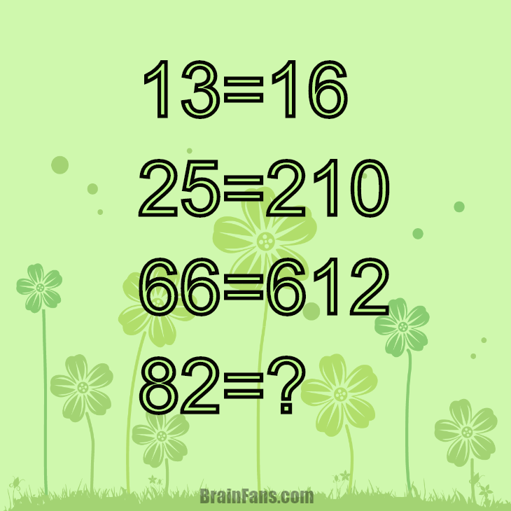 Brain teaser - Number And Math Puzzle - number challenge - Solve this challenge with numbers and find the pattern.